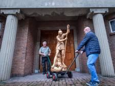 Heumense Sint Joris is klaar voor verhuizing van kerk naar school: 'Hij mocht niet in kroeg eindigen'