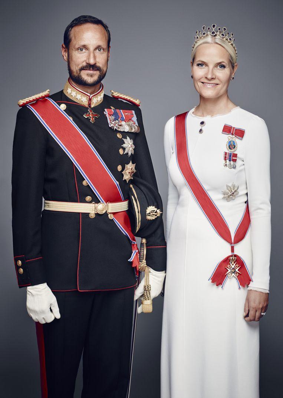 Mette-Marit, de echtgenote van de Noorse kroonprins Haakon, wordt in rijk geïllustreerde bladen vooral in verband gebracht met haar drugsverleden, en met de talrijke kwalen waaraan ze zou lijden. Beeld Getty Images