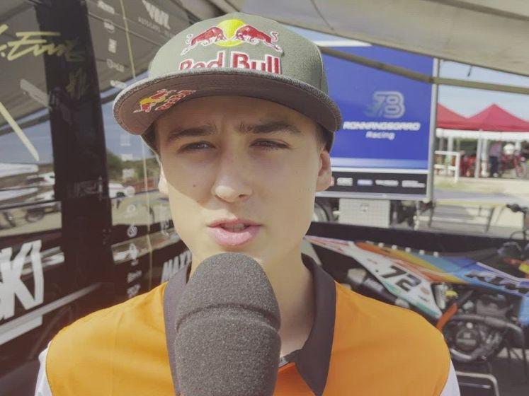 """Liam Everts debuteert in MX2-klasse: """"Ik ben niet anders dan andere piloten"""""""
