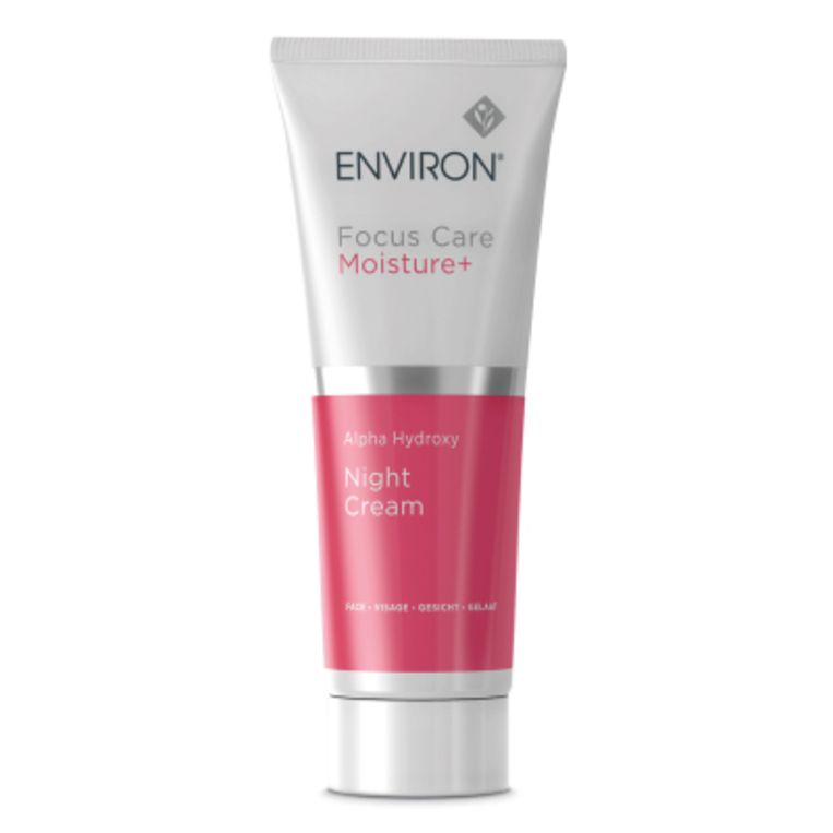 Environ, Focus Care Moisture+ Alpha Hydroxy Night Cream, 55 euro. Beeld rv
