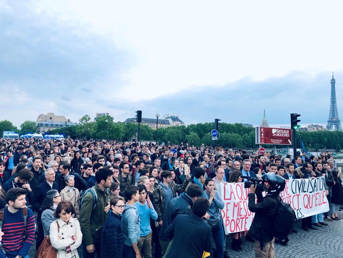 Marche de soutien à Vincent Lambert, le 21 mai.