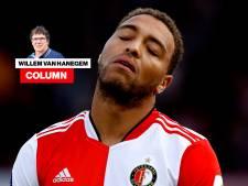 Column Willem van Hanegem | Cyriel Dessers zakte bij Feyenoord compleet door het ijs