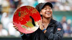 Naomi Osaka maakt favorietenrol waar in Osaka