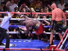 Tyson Fury zorgt voor spectaculaire knock-out, Deontay Wilder naar ziekenhuis: 'Eén van mijn grootste zeges'