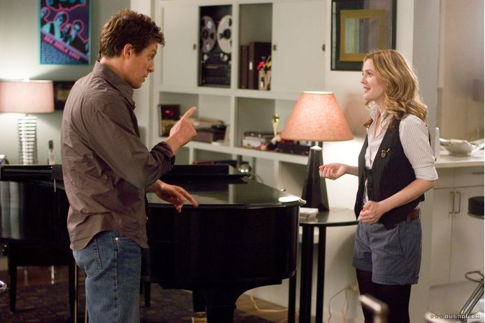 Drew Barrymore en Hugh Grant in 'Music and Lyrics'