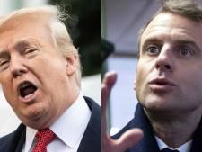Trump haalt opnieuw uit naar Macron