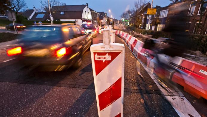 Op dit type verkeersafzetting bleek een man uit Naaldwijk erg verzot. Hij is in de nacht van zaterdag op zondag aangehouden.