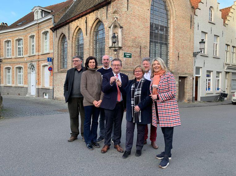De Speelmanskapel in Brugge krijgt een nieuwe invulling.