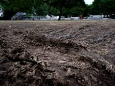 Palm Parkies op andere locatie in Wantijpark: grasveld is er nog niet klaar voor