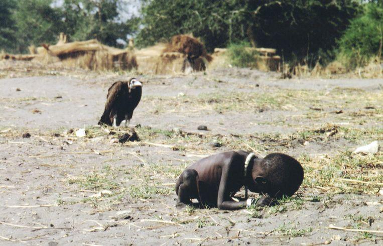 Soedan, 1993 Beeld Kevin Carter
