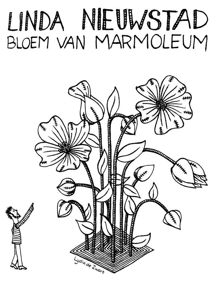 Marmoleum bloem