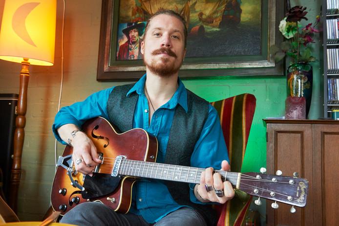 Muzikant Robin Borneman.