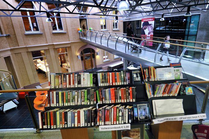 Bibliotheek VANnU in Roosendaal.