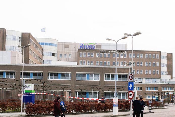 Het Beatixziekenhuis in Gorinchem is 'op slot' gegaan vanwege een besmetting met het coronavirus.