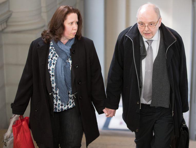 Christian Van Eyken (R) en echtgenote worden verdacht van moord.