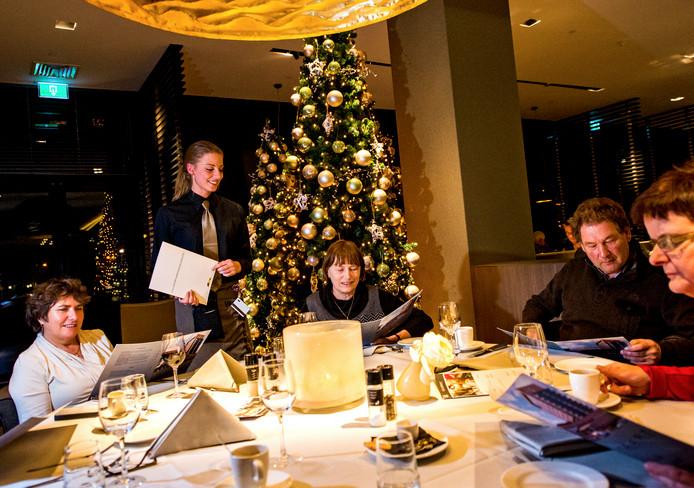 De Dordtse restaurants zijn populair met Kerst.