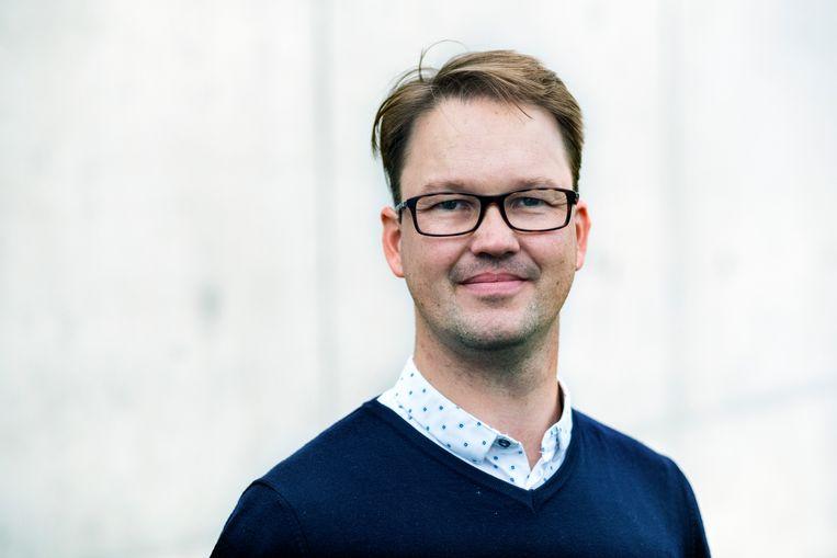 Maarten Rabaey. Beeld Tim Dirven