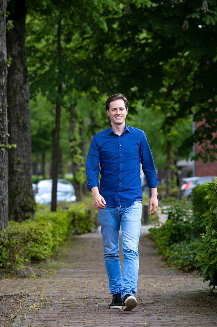 Laurens Dassen in Knegsel, voorzitter politieke partij Volt