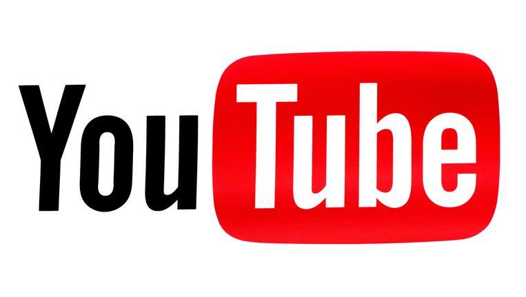 Het logo van You Tube. Beeld anp