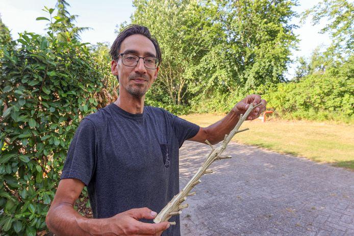 Robin is vorig jaar uit  zijn huis is gezet om 1 wietplant.