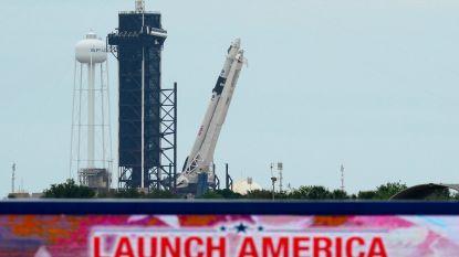 """LIVE. Alle lichten op groen voor lancering van Crew Dragon: """"Eerste missie in 9 jaar met Amerikaanse astronauten, een Amerikaanse raket, vanop Amerikaanse bodem"""" - Volg de lancering vanavond op HLN LIVE"""