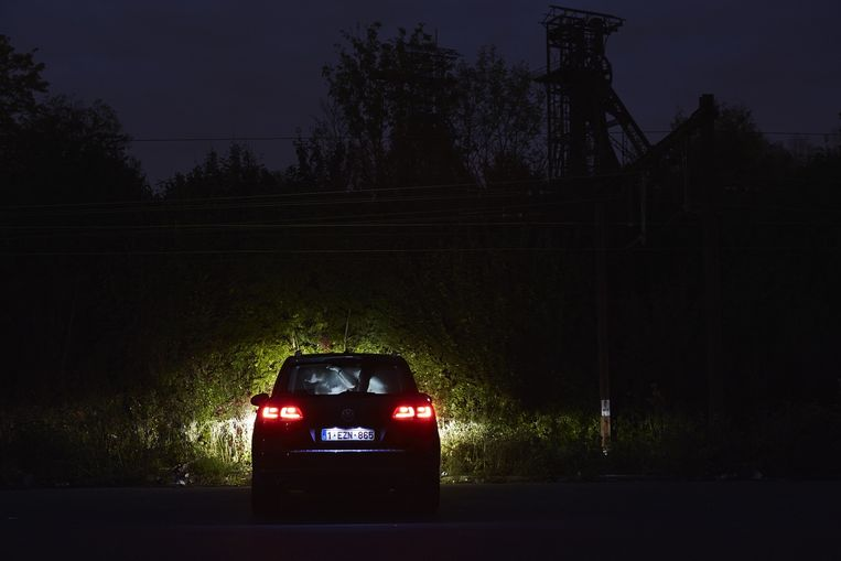 De man in de auto is de neef van fotograaf Giovanni Troillo. Beeld Giovanni Troilo