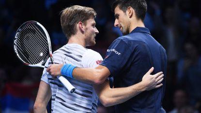 Djokovic stelt de 'perfecte tennisser' samen en selecteert twee eigenschappen van Goffin