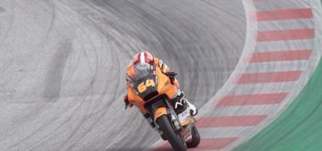Bendsneyder opnieuw in achterhoede in Moto2