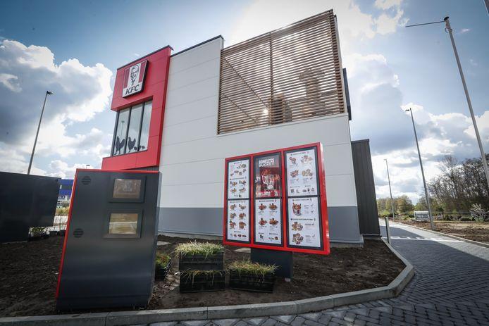 Donderdag opent de tweede Limburgse vestiging van KFC de deuren.