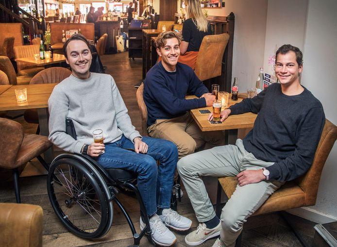 v.l.n.r. Maarten, Jort en Okker