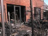 Grote schade na brand bij woning in Zevenaar