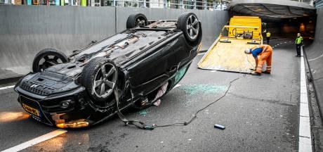 Toch maatregelen in de Willemstunnel om ongelukken tegen te gaan