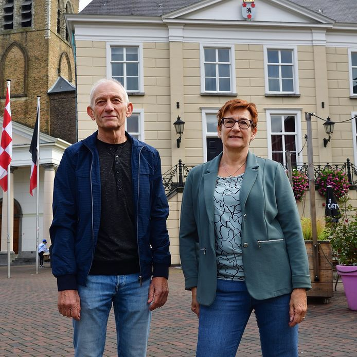 Zoon Kees en dochter Annelies van As bewaren goede herinneringen aan de tijd dat hun vader Piet van As een succesvol wielrenner was.