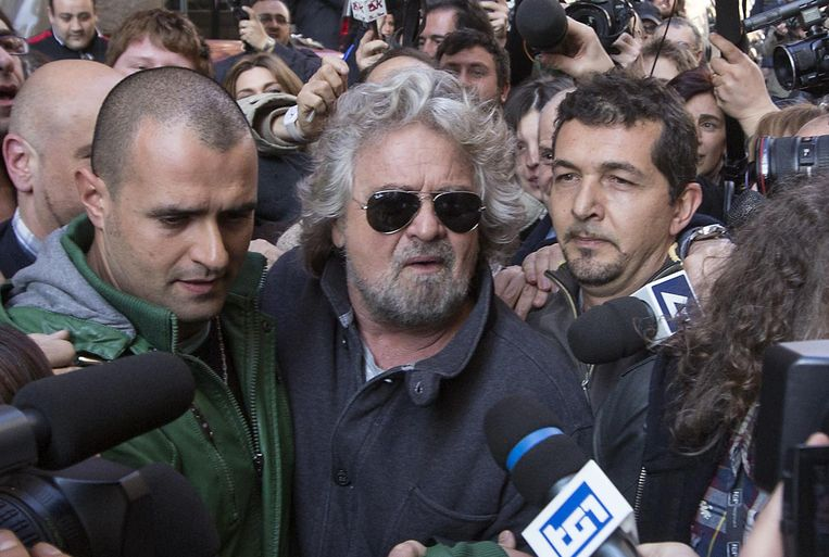 Beppe Grillo Beeld ap