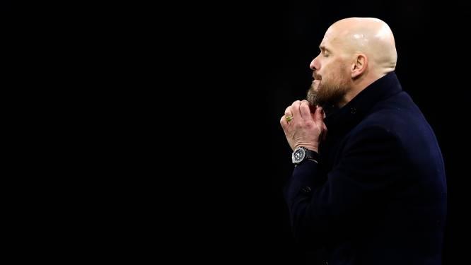 Erik ten Hag: 'Alle seinen staan bij Ajax even op rood'