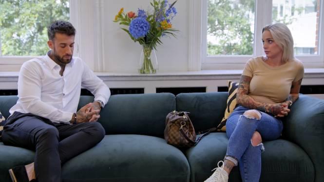 """PREVIEW. Pommeline gaat in 'Celebs gaan daten' de confrontatie aan met Fabrizio: """"Ik ging van droomvrouw naar een stuk vuil"""""""