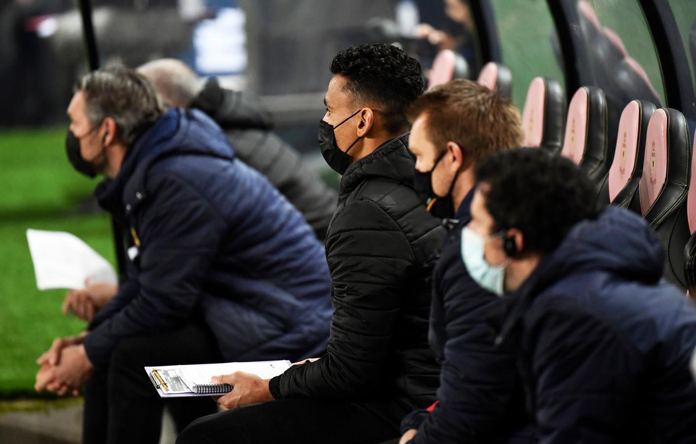 Igor De Camargo nam de plaats van Wouter Vrancken in tegen Club Brugge.