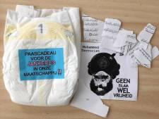 Verzender luier vol met spotprenten aan moskee in Deventer niet gevonden: 'Geen aanknopingspunten'