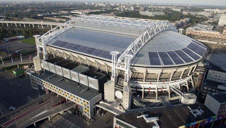 Het voetbalstadion van Ajax gaat Johan Cruijff Arena heten. Beeld anp