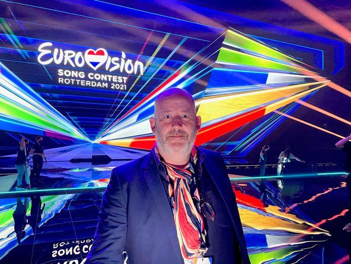 Marc Pos, geboren en getogen in Den Bosch, is één van de regisseurs van het Eurovisie Songfestival 2021.