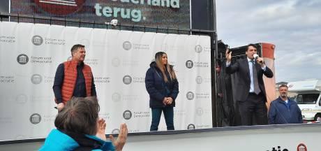 Baudet had tientallen coronaboetes kunnen krijgen tijdens campagnebezoek in Harderwijk