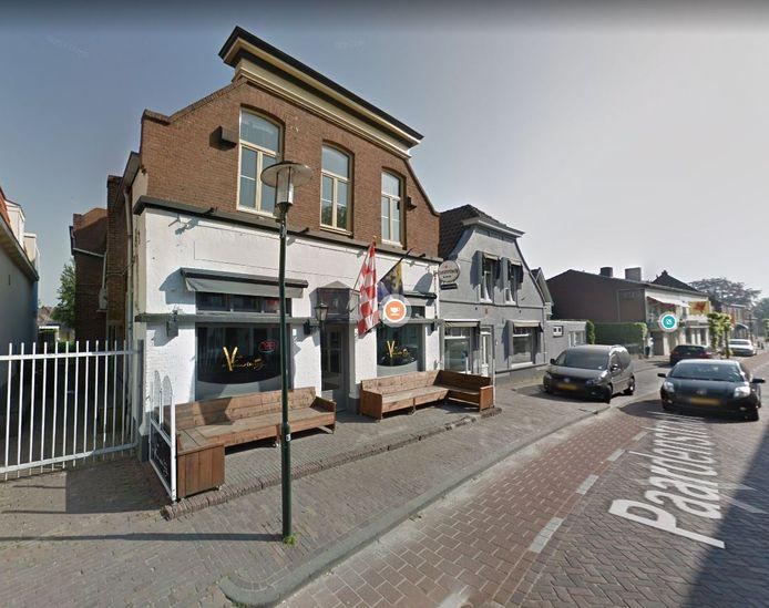 Café De Verandering aan de Paardenstraat in Hilvarenbeek.