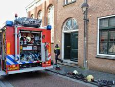 Geen gewonden bij brand in appartement in Bergen op Zoom