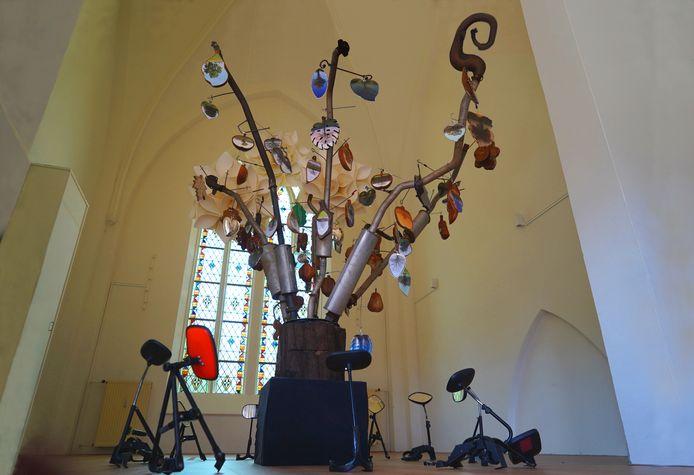 De Stikstofboom is te zien in het Kunst Torentje in Almelo