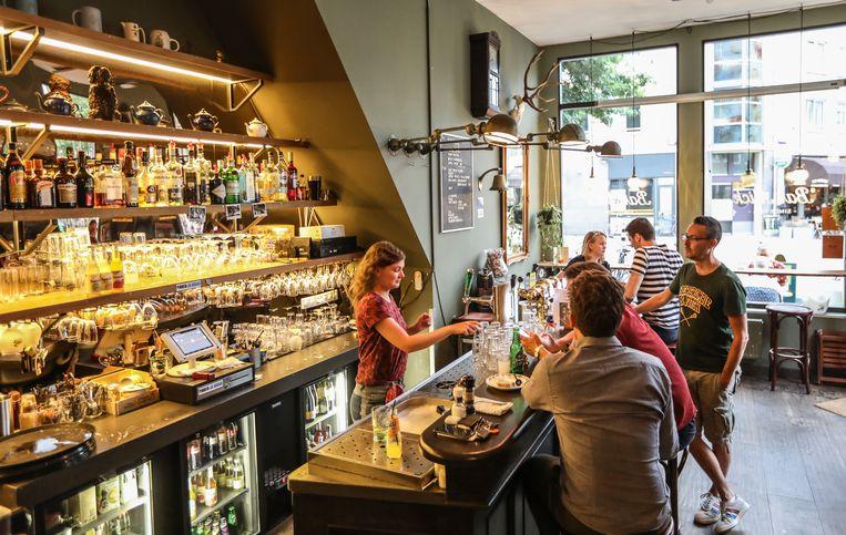 Bar Mick, Spaarndammerstraat 53H. Beeld Eva Plevier