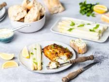 Wat Eten We Vandaag: Gegratineerde kabeljauw met witte asperges