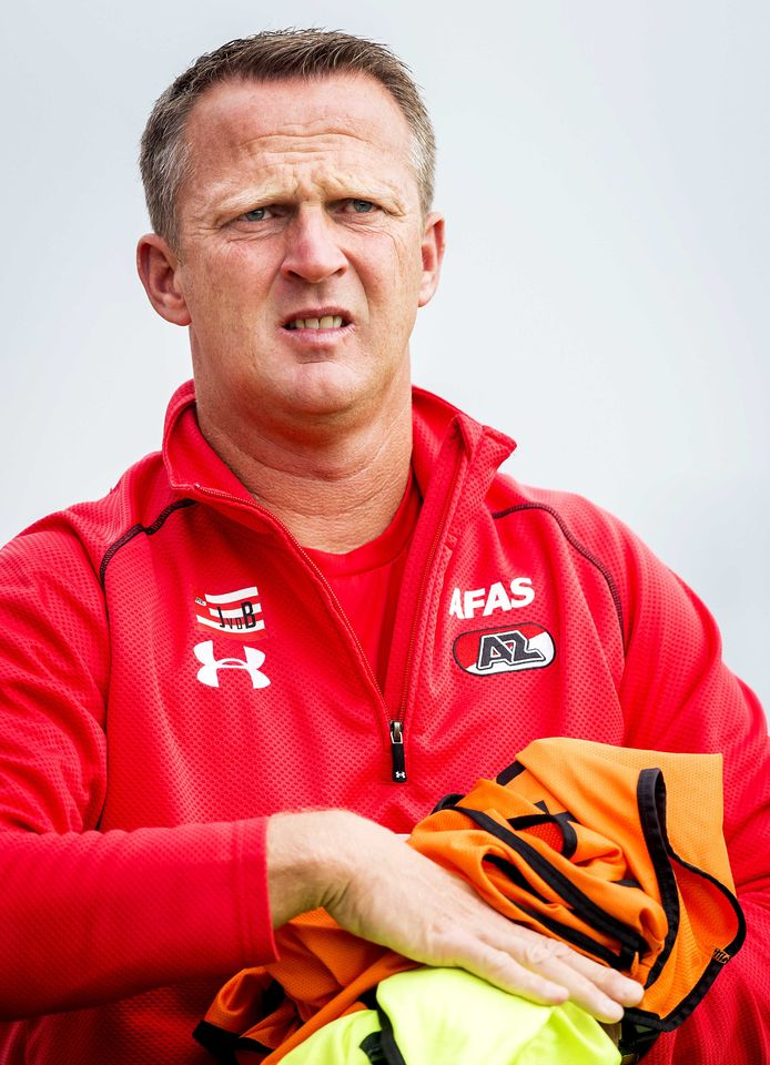 John van den Brom was appointed as AZ's fourth trainer in 2015.