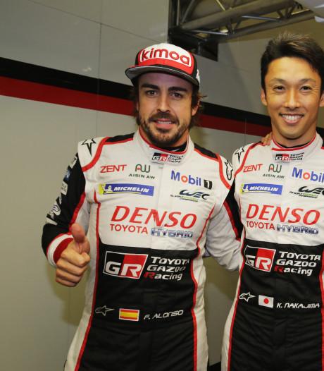 Alonso start vooraan bij 24 uur van Le Mans