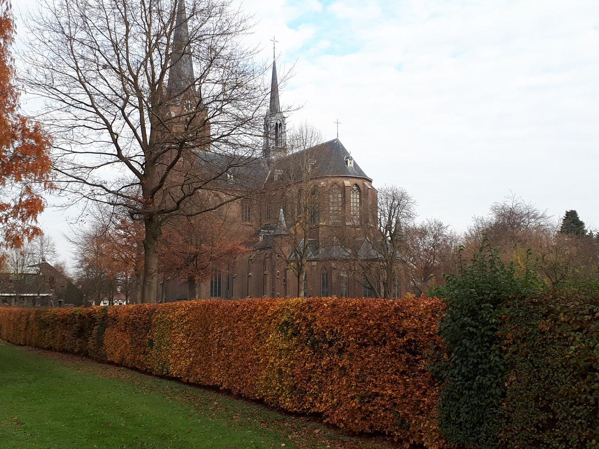 De St. Jan Geboortekerk in Vlijmen