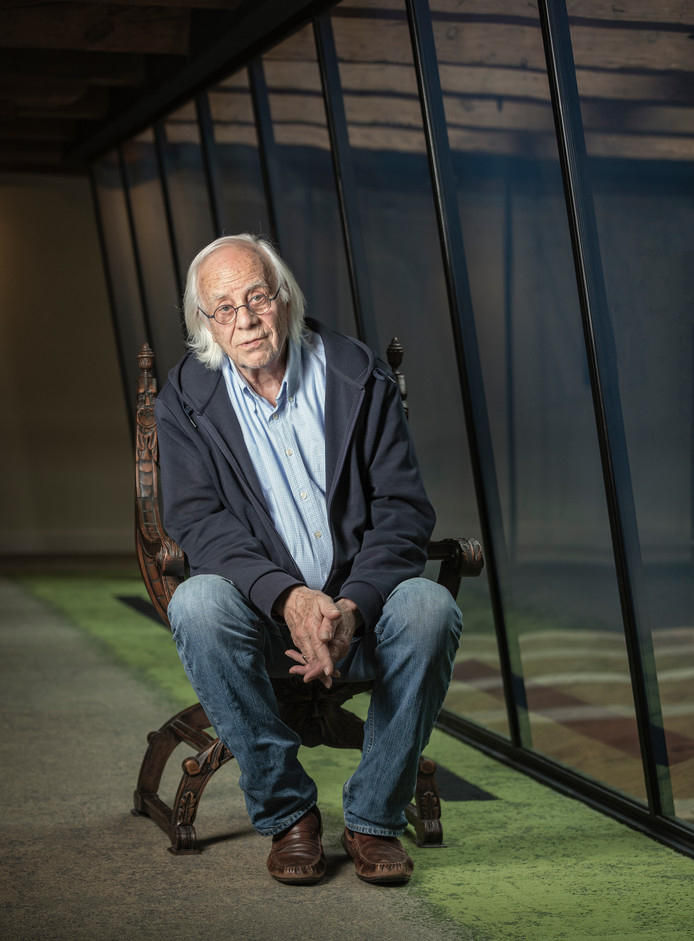 De 85-jarige acteur Bram van der Vlugt uit de Meije is nog lang niet uitgespeeld.